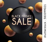 black friday. sale. can be used ... | Shutterstock .eps vector #583399021