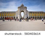 lisbon  portugal   april 1 2015 ... | Shutterstock . vector #583403614