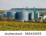 Small photo of Modern Silo - agro storage