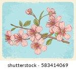 vintage vector illustration...   Shutterstock .eps vector #583414069