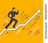 line flat design vector... | Shutterstock .eps vector #583426564