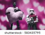 gdynia  poland. 13 feb 2017.... | Shutterstock . vector #583435795