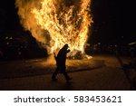 florina  greece   december 24 ... | Shutterstock . vector #583453621