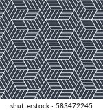Seamless Op Art Pattern. 3d...