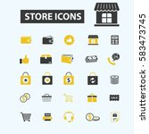 store icons | Shutterstock .eps vector #583473745