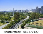view of ibirapuera park ... | Shutterstock . vector #583479127