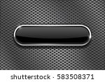 metal perforated background... | Shutterstock .eps vector #583508371
