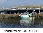Fishing Trawler Moored...