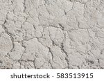 white arid cracked dry textured ... | Shutterstock . vector #583513915