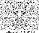 straw pattern texture repeating ... | Shutterstock .eps vector #583536484