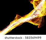 abstract style smoke... | Shutterstock . vector #583569499