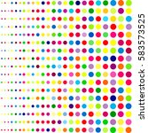 abstract colorful background... | Shutterstock .eps vector #583573525