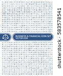 business and finance icon set... | Shutterstock .eps vector #583578541