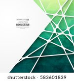 abstract geometric background... | Shutterstock .eps vector #583601839