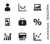 set of 9 editable logical icons....
