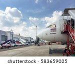 krabi  thailand   february 14... | Shutterstock . vector #583659025