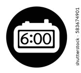 time icon | Shutterstock .eps vector #583674901