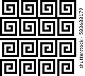 vector seamless pattern.... | Shutterstock .eps vector #583688179