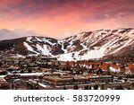 Winter Sunrise Above Park City...