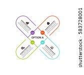 vector infographic elements.   Shutterstock .eps vector #583728001