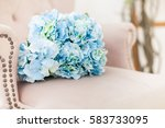 flowers for wedding decoration | Shutterstock . vector #583733095