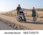 A Disabled Child In A...