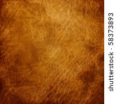 Brown Leather Texture Closeup....