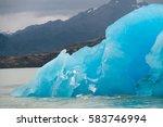 Melting Icebergs On Lago...