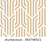 the geometric pattern with... | Shutterstock .eps vector #583748521