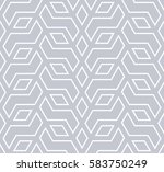 abstract geometric pattern with ... | Shutterstock .eps vector #583750249