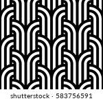 geometric pattern. vector... | Shutterstock .eps vector #583756591