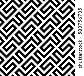 geometric pattern. vector...   Shutterstock .eps vector #583756735