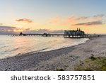 sunrise on the beach of sellin...