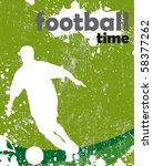 football poster   Shutterstock .eps vector #58377262