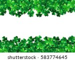 saint patricks day background... | Shutterstock .eps vector #583774645