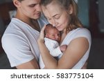 Family Portrait  Mother  Fathe...