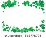 st. patrick's day background... | Shutterstock .eps vector #583776775