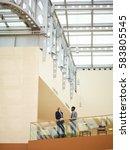 multi ethnic economists... | Shutterstock . vector #583805545