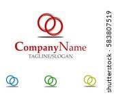 wedding organizer logo | Shutterstock .eps vector #583807519