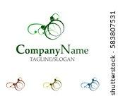 wedding organizer logo | Shutterstock .eps vector #583807531