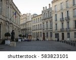 square with typical france...   Shutterstock . vector #583823101