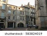 typical street of bordeaux ...   Shutterstock . vector #583824019
