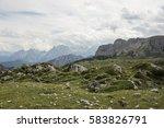 panoramic view of beautiful...   Shutterstock . vector #583826791