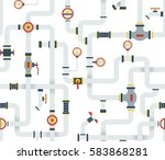 seamless stock vector ware... | Shutterstock .eps vector #583868281