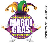 Mardi Gras Icon Design. For...