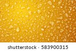 background of water drops on... | Shutterstock .eps vector #583900315