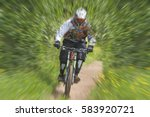 Bright Blurred Image With...