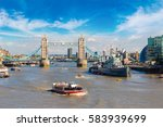 Hms Belfast Warship And Tower...