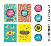 sale website banner templates.... | Shutterstock . vector #583942705