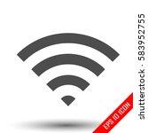 wifi icon. wifi sign. simple...